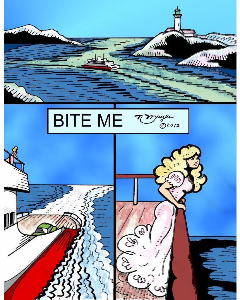 Bite me - page 1